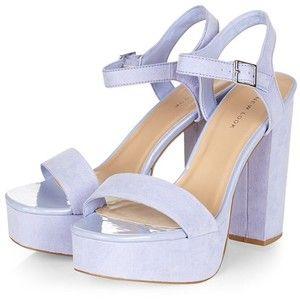 Lilac Chunky Heels